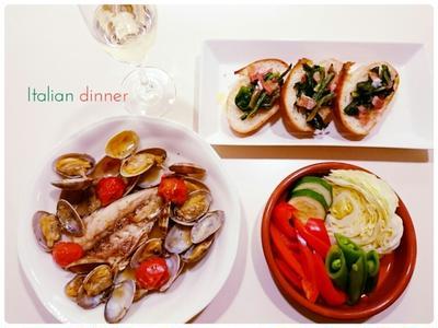 【Recipe:スピナッチのブルスケッタ】本日のランチにもどうぞ。簡単♪お洒落イタリアン