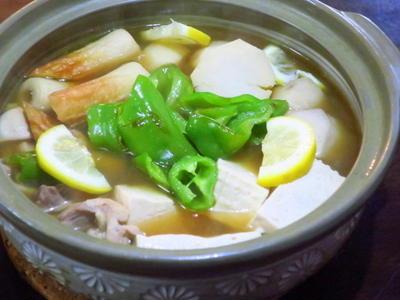 里芋と豆腐のおでん鍋