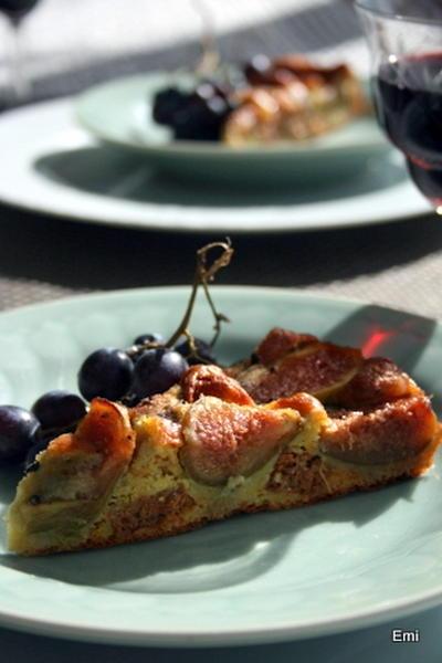 沢山実を付けてくれた無花果に感謝のレシピ ケーキシュークレ、サレ、ピザ