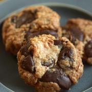 ココナッツ&チョコのクッキー