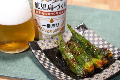 365日レシピNo.162「オクラの醤油キムチ」