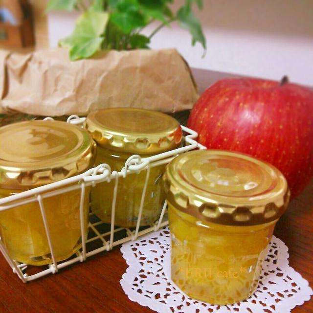 【うちカフェ】自家製キラキラリンゴジャム