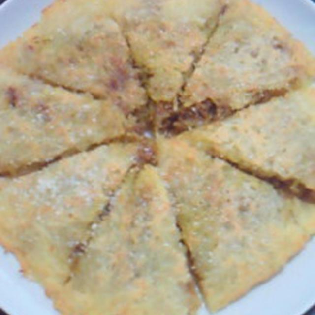 簡単♪美味しい☆ジャガイモのガレット☆カレー&チーズ風味