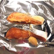 塾弁です「鮭の西京漬け風」