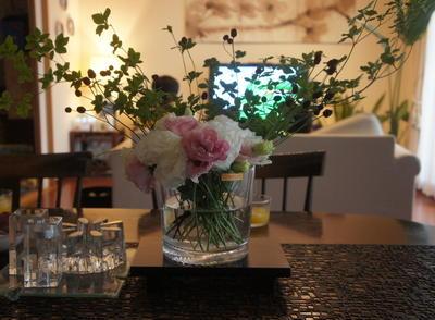 ナハトマンのアイスボックスでお花♪ 薬膳料理教室。おうちご飯~冷やし梅おろし、塩麹チャーシュー~