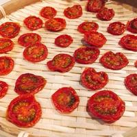 ミニトマトで自家製ドライトマト