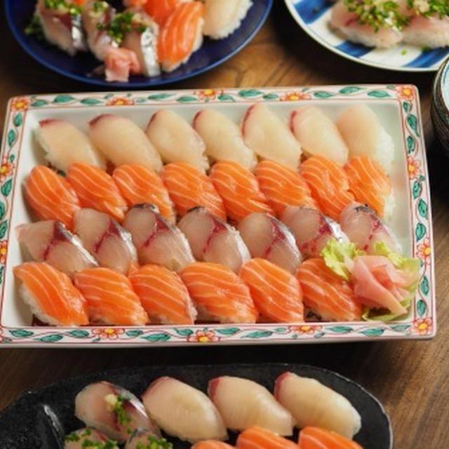 おうちにぎり寿司、自宅でのにぎり寿司の作り方