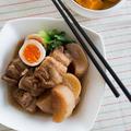 【豚かたまり肉×大根レシピ】大根がとろける〜♪「豚バラと大根のうま煮」