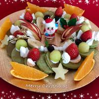 クリスマスに・・まるでリースなパンケーキ☆