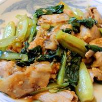 群馬県産小松菜と豚バラを合わせて☆小松菜と豚バラ肉の甜麺醤炒め☆☆☆