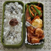 調理時間10分1人分87円♡肉だんごと玉ねぎのケチャップ炒めのお弁当