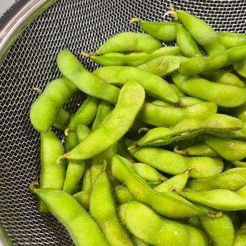 枝豆「だだちゃ豆」と「黒埼茶豆」
