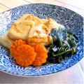 デトックス効果に‼︎揚げ焼き豆腐とワカメの治部煮♡レシピ