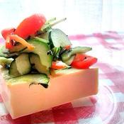 ビックリ!水っぽくない豆腐サラダ