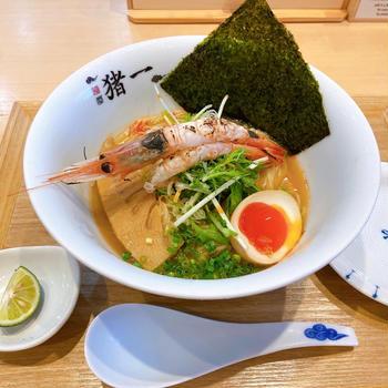 京都 麺屋猪一さんで冷たいラーメン♪