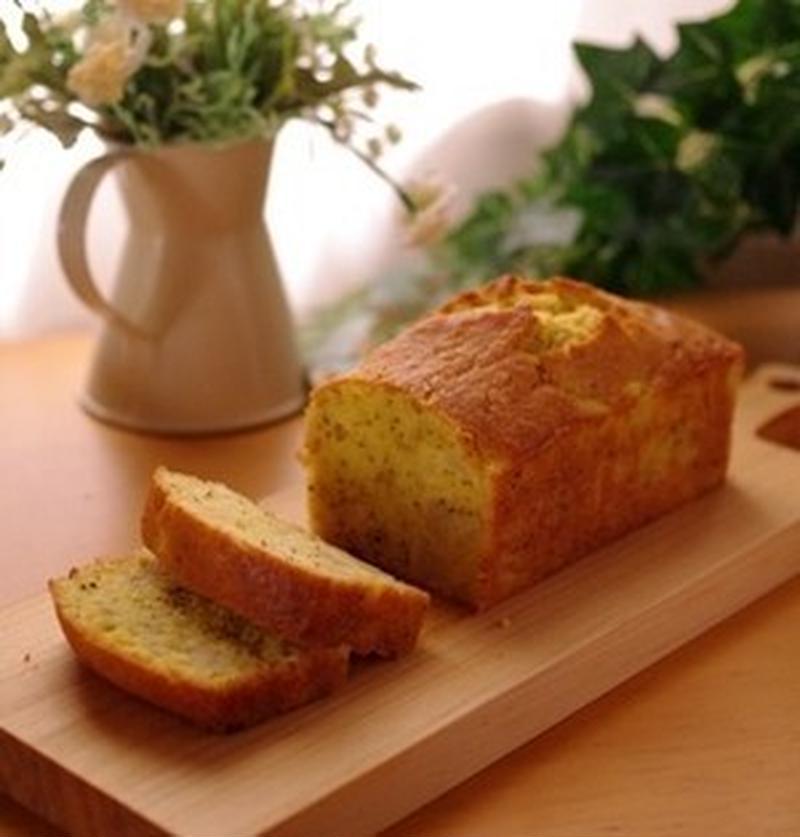 しっとりふわふわ♪食べすぎ注意な「紅茶のパウンドケーキ」