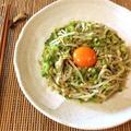 辛さ吹きぬけ。ツナゴーヤの冷製グリーンカレーナムル(糖質4.3g) by ねこやましゅんさん
