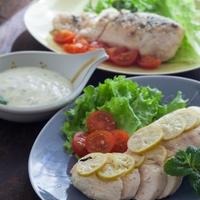 鶏胸肉のミント風味 〜 2種