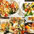 ■簡単5分!!【高菜漬けとスモークベーコンのチャーハン】スキレット焼きのお伴で^^♪