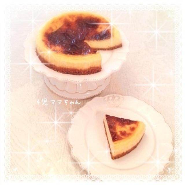 マスカルポーネ入りベイクドチーズケーキ☆レシピ