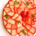 たっぷり苺のチーズケーキタルト*レシピ by たっきーママ(奥田和美)さん