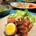 沖縄料理ラフテー&もずくヒラヤーチー