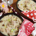 簡単朝ごはん!白菜と鶏肉のクリーム煮で「ブーケファスト」*スキレット朝食