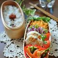 レンコンとチェダーチーズのささ身の丸め焼きと続オクラ by shokoさん