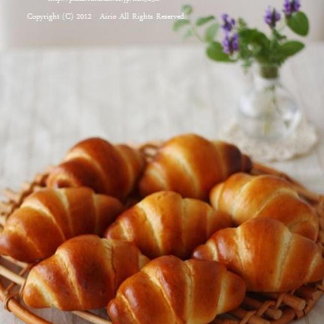 ロールパンでおひとりさまごパン♪