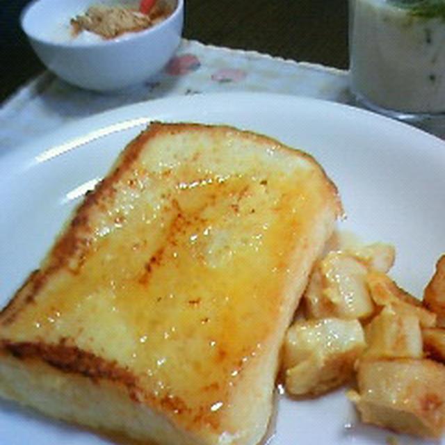 素敵朝食♪♪フレンチヨーグルトースト&お麩レンチトースト♪♪♪