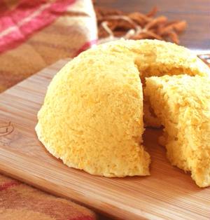 極しっとり!凄く美味しい低糖質コーンケーキ蒸しパン(糖質8.3g)