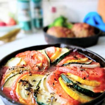 【レシピあり】トースターで作れちゃう♪フォトジェニックなラタトゥーユ