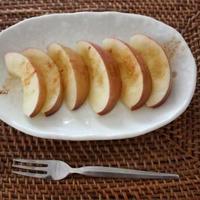 おやつにどうぞ『HOTりんご』