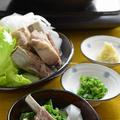 <圧力鍋で簡単スペアリブの和風白湯スープ鍋>