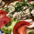 レタスが無限に食べられます~しっとりむね肉とレタスのサラダ♪~ぐんまクッキングアンバサダー~