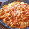国際カニカマDAY!白だしケチャップの濃厚餡かけ蟹豆腐(糖質7.8g) by ねこやましゅんさん