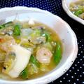 【レシピ】 白菜のシーフードあんかけ煮込み(^^♪ by ☆s4☆さん