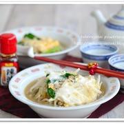 もやしと豚ひき肉の食べる中華風スープ【食べる野菜パワースープレシピ】