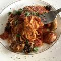 [レシピ]西友とオーケーの材料で超時短「プッタネスカ(娼婦風)」スパゲッティ