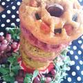 オーガニック野菜ドーナツ・タワー