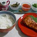 北海道と名古屋風のコラボ?!秋鮭の赤味噌焼き★ひつまぶし