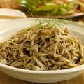 食欲の秋のダイエットメニュー☆きのこおろし炒め蕎麦