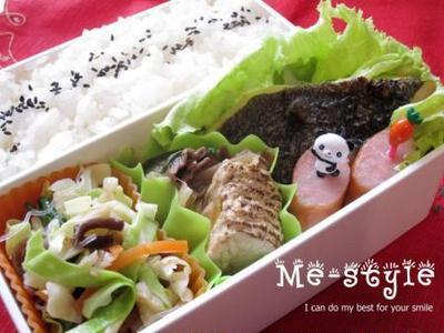 "To day's bento♪「今日のお勧めは""簡単肉豆腐""」"