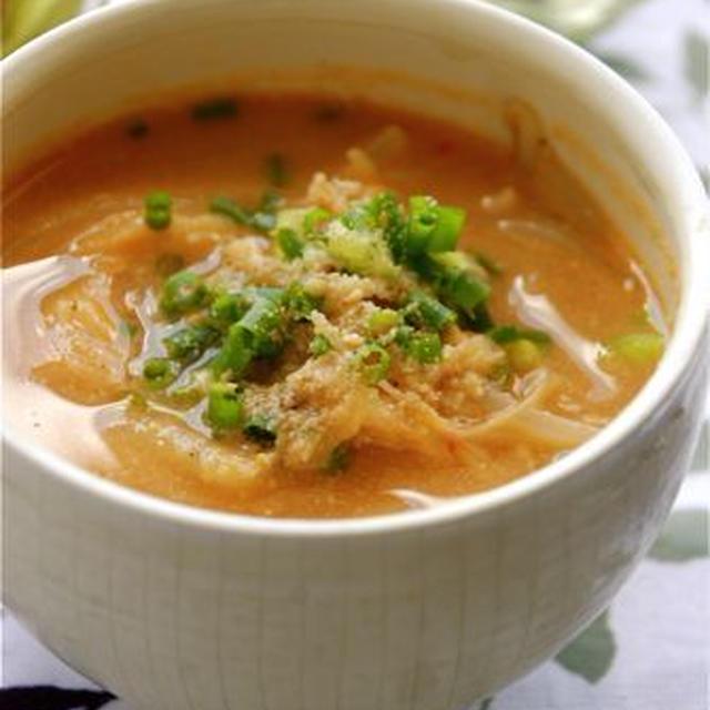 煮立てるだけで☆坦坦スープ