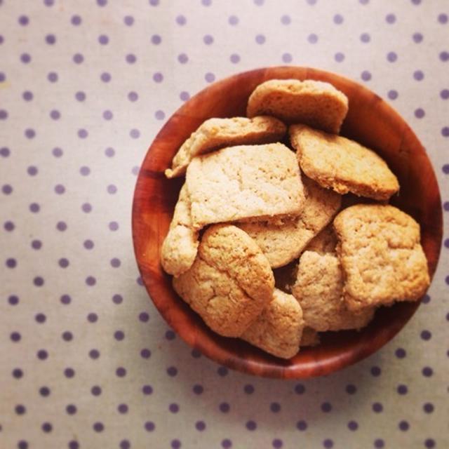 ホットケーキミックスde簡単ジンジャークッキー