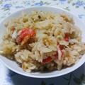 簡単!おいしい我が家の蟹飯 by c.h.iroruさん