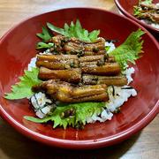 山椒たっぷり煮穴子丼 ♪