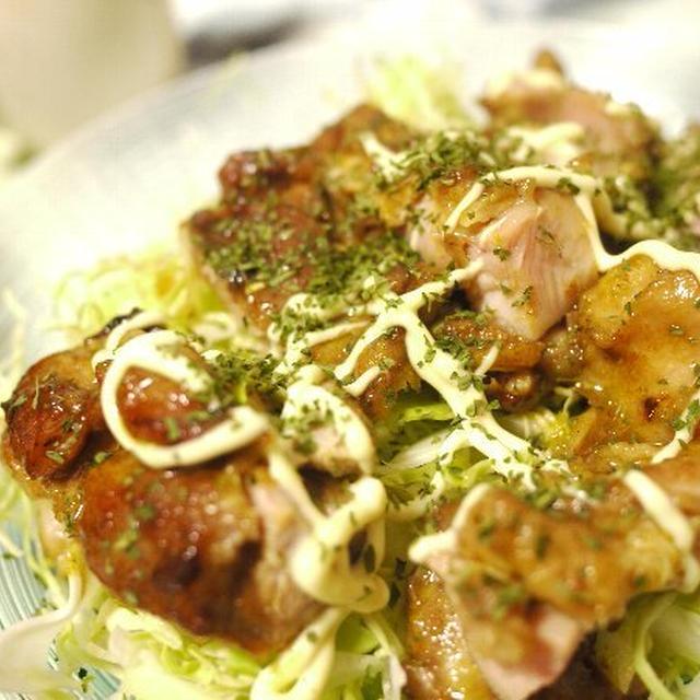 「カレー風味の鶏照り焼き」