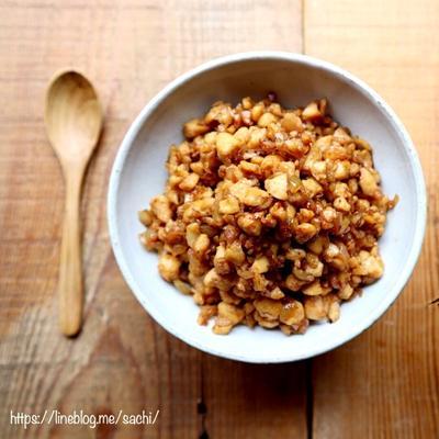 豆腐で肉味噌風(肉そぼろ風)♡【#簡単レシピ#ヘルシー#作り置き】
