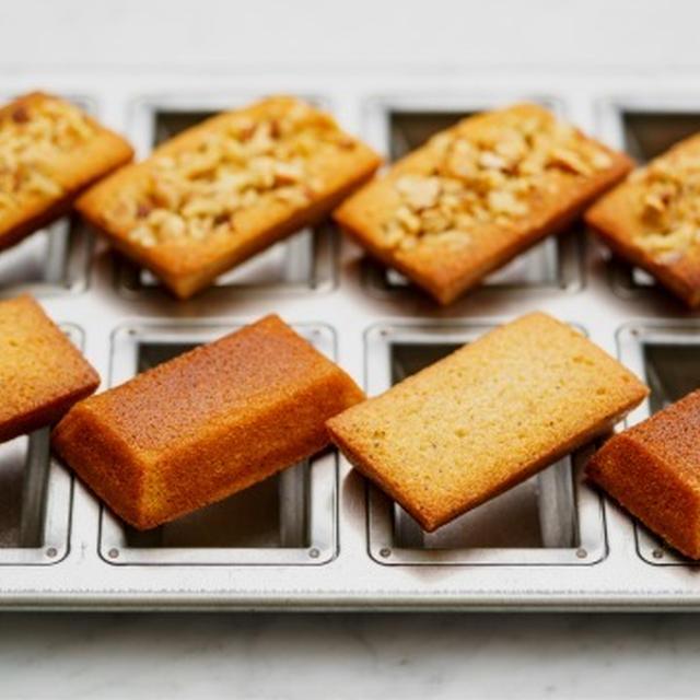 焦がしバター香る基本のフィナンシェのレシピ・作り方